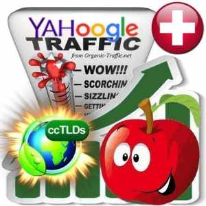 Buy Google & Yahoo Switzerland Webtraffic