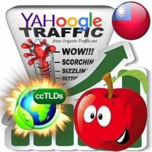 Buy Google & Yahoo Taiwan Webtraffic