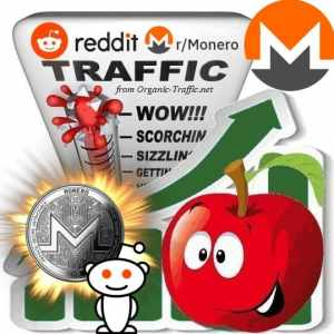 Buy Reddit r/Monero Traffic