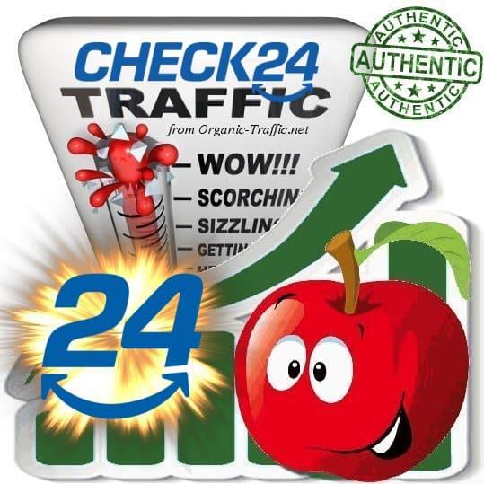 Buy Website Traffic Check24.de