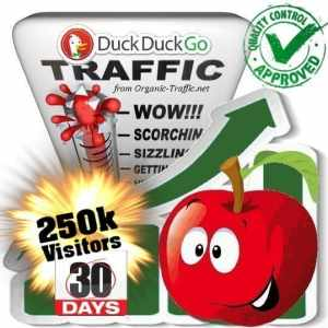 duckduckgo search traffic visitors 30days 250k