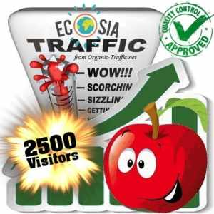 buy 2500 ecosia search traffic visitors
