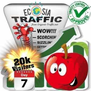 buy 20k ecosia search traffic visitors within 7days