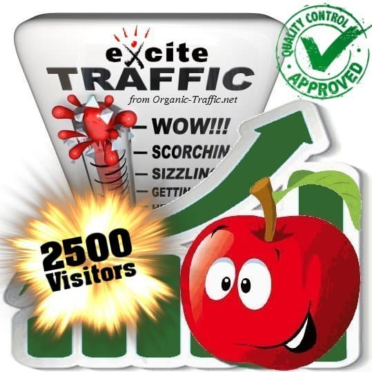buy 2500 exite search traffic visitors