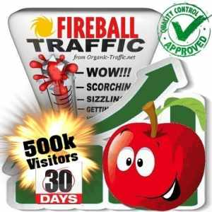 fireball search traffic visitors 30days 500k