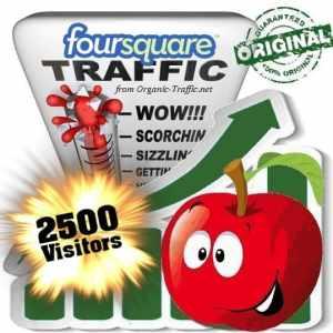 buy 2500 foursquare social traffic visitors