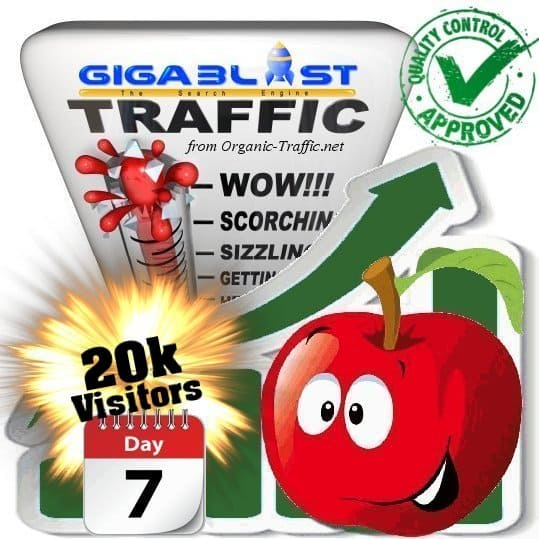 buy 20.000 gigablast search traffic visitors in 7days