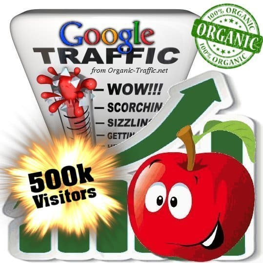 buy 500.000 google organic traffic visitors