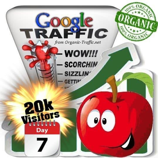 buy 20k google organic traffic visitors 7days