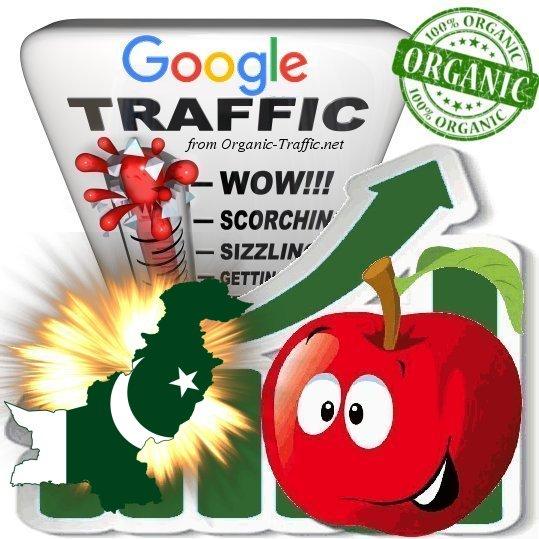 Buy Pakistanian Google Search Traffic