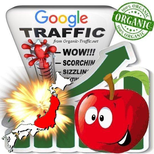 Japanese Google Search Traffic