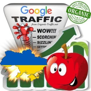 Ukrainian Google Search Traffic