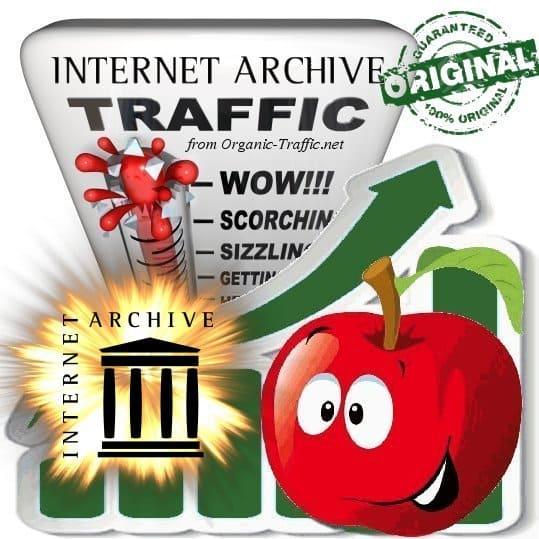 Buy Archive.org Web Traffic
