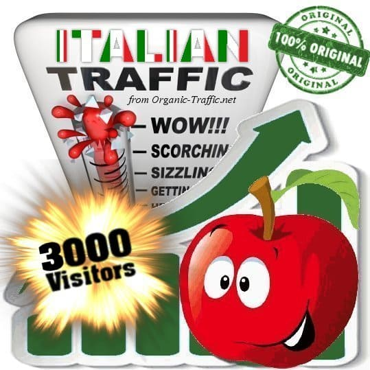 buy 3000 italy traffic visitors