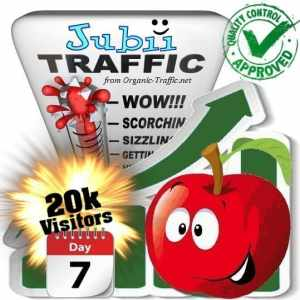 buy 20.000 jubii.dk search traffic visitors in 7 days