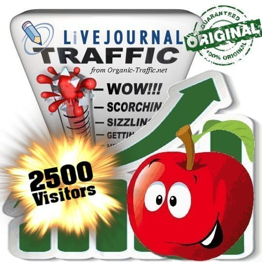 buy 2500 livejournal social traffic visitors
