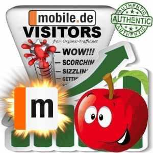 Buy Mobile.de Website Traffic