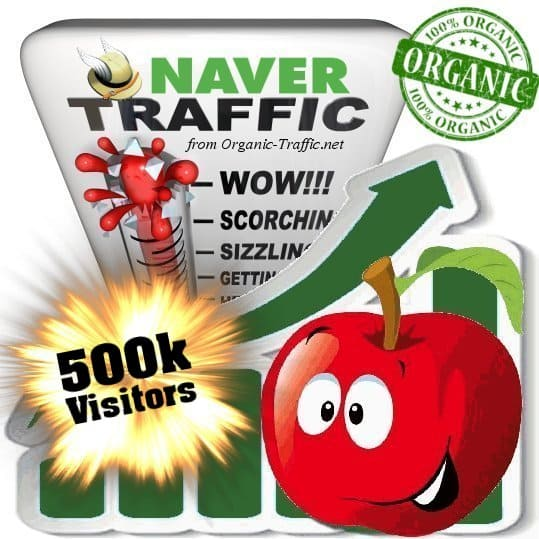 naver organic traffic visitors