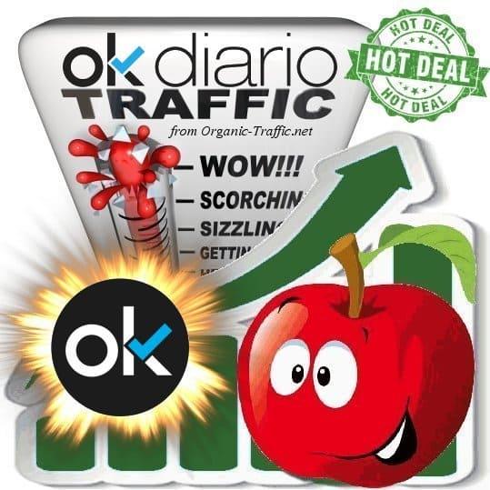 Buy Webtraffic - Okdiario.com