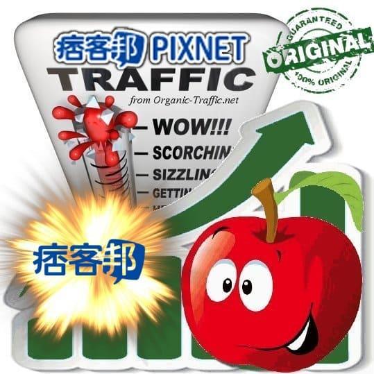 Buy Pixnet.net Referral Web Traffic