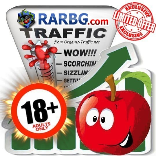 Buy RARBG.com Adult Traffic