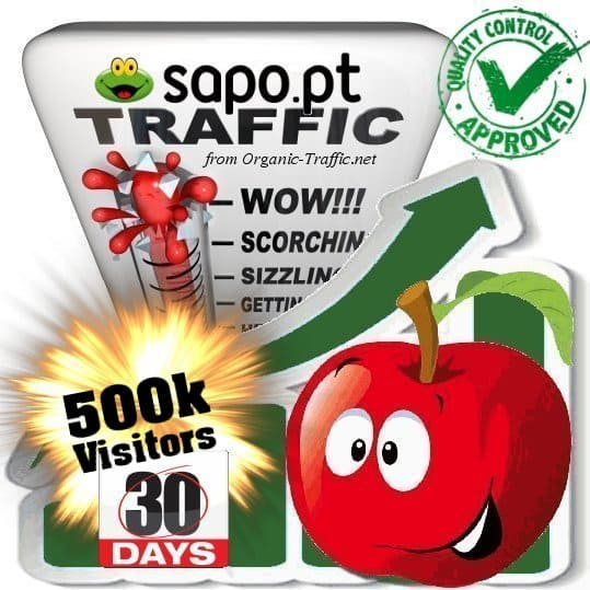 buy 500.000 sapo.pt search traffic visitors within 30 days