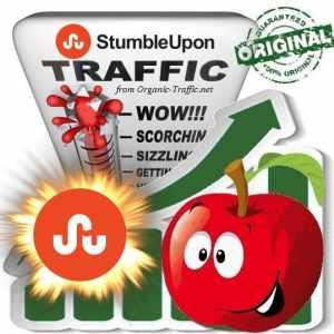 Buy StumbleUpon Web Traffic
