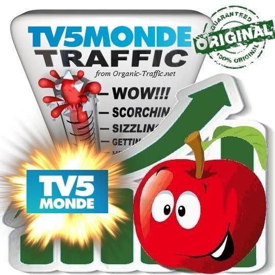 Buy Website Traffic Tv5Monde.com