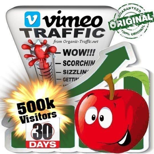 buy 500k vimeo social traffic visitors in 30 days