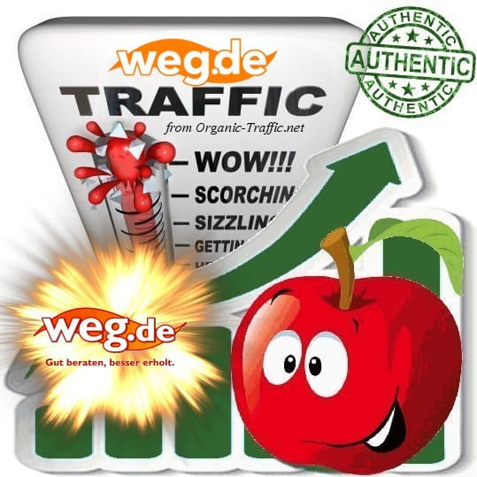 Buy Targeted Website Traffic - Weg.de