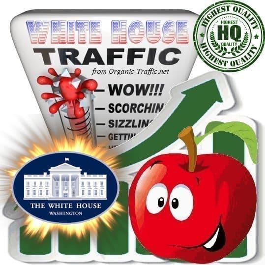 Buy The White House Web Traffic