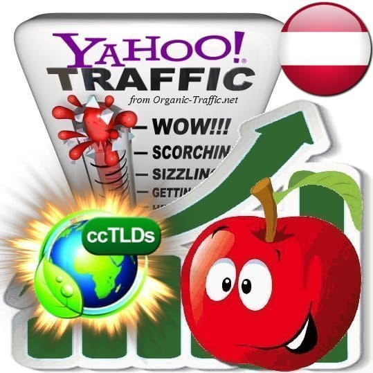 buy yahoo austria organic traffic visitors