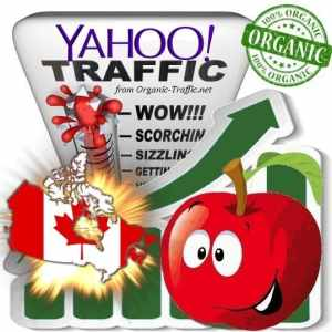 Yahoo Canada Web Traffic Service