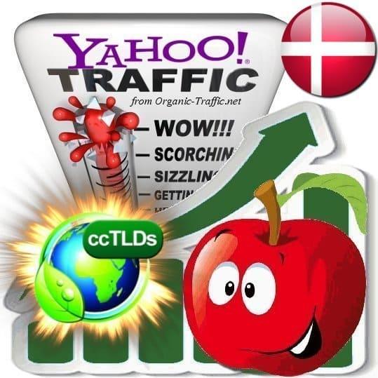buy yahoo denmark organic traffic visitors