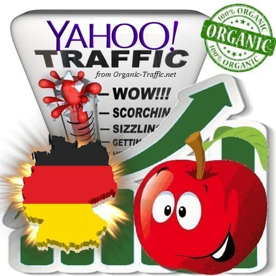 Yahoo Deutschland Web Traffic Service