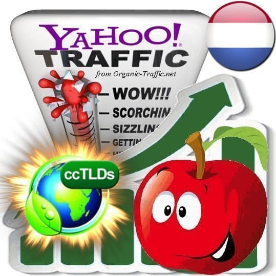 buy yahoo netherlands organic traffic visitors