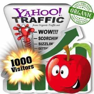 buy 1000 yahoo organic traffic visitors