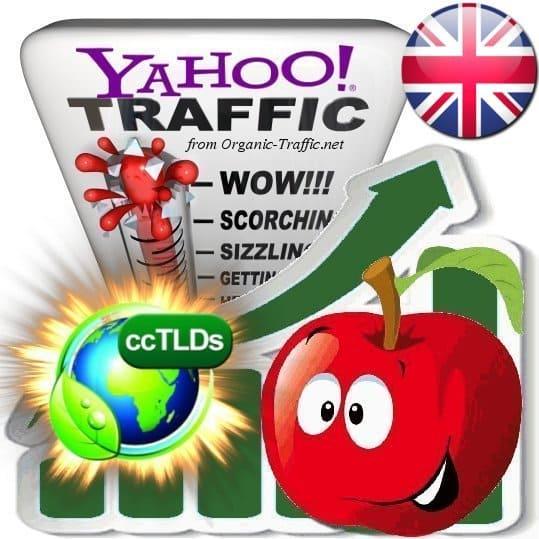 buy yahoo united kingdom organic traffic visitors