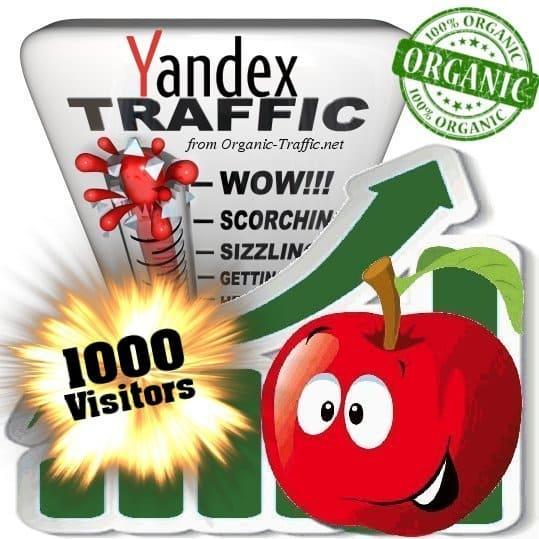 buy 1000 yandex organic traffic visitors