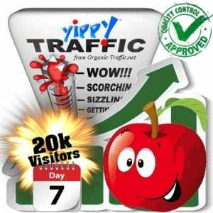 buy 20.000 yippy search traffic visitors in 7 days