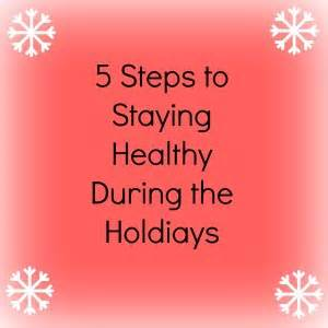 5 Simple Tips To Stay Healthy For The Holidays