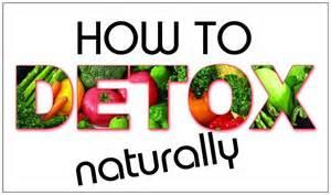 detoxing naturally