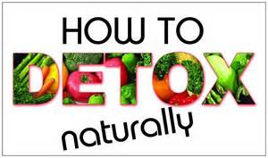 detoxing naturally