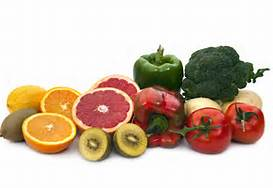 citrus fruits, broccoli, tomatoes