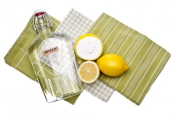 Lemons, Baking Soda and Vinegar are all Natural Environmentally Friendly Ways to Clean Your Home.