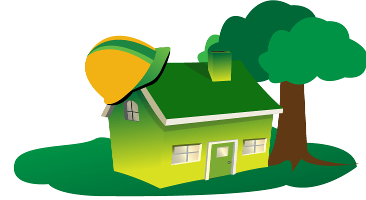 green renovations house-with-hat