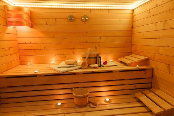 sauna spa treatment
