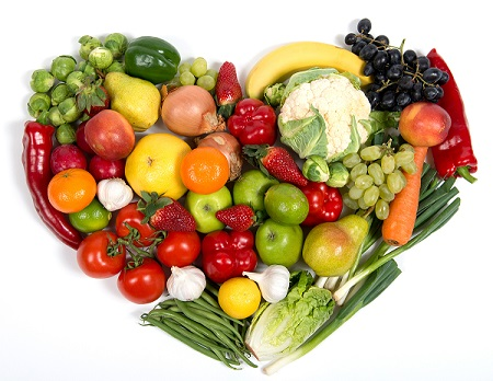 fruits and veggies for detoxing