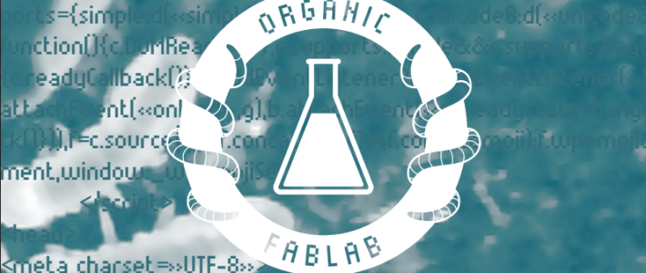 Le dossier de presse de l'Organic FabLab en ligne
