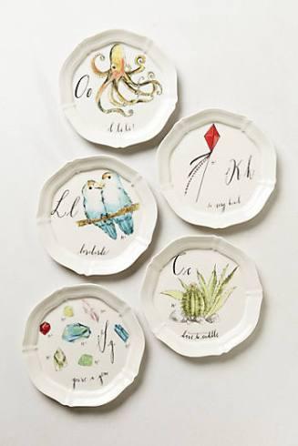 canape plates